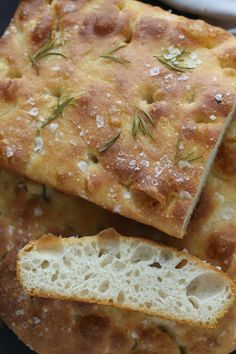 Focaccia med havsalt og rosmarin - Passion For baking Passion, Baking, Bakken, Backen, Sweets, Pastries, Roast