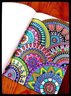 Mandala Art, Doodly, Zen Doodle, Složité Kreslené Vzory, Pointilismus, Umělecký Deník, Sharpie Art