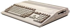 My third computer: the Commodore Amiga 500. 3.5-inch internal floppy, 1 MB RAM. I eventually added an external 16MB hard drive.
