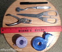 Tools For Tracing Sewing Patterns
