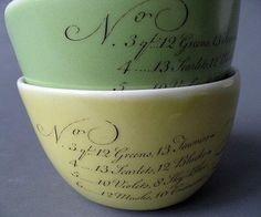 Asya Palatova of Gleena Ceramics -- Porcelain Calligraphy Bowls