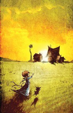 Wonderful Wizard of Oz 8 Cover by skottieyoung on deviantART