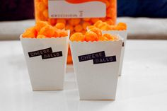 """DIY Popcorn Boxes or """"Chuck"""" Cheese Ball Boxes + Free Printable 