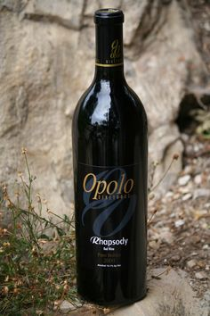Opolo Vineyards 2009 Red Wine, Rhapsody, Paso Robles.   Favorite wine ever!! Introduced to me by my sis