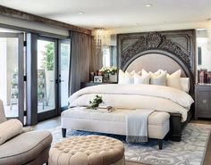 Top 60 Best Master Bedroom Ideas - Luxury Home Interior Designs Rest easy in luxury with the top 60 best master bedroom ideas. Explore home interior designs featuring unique bedding, wall colors and beyond. Master Bedroom Interior, Dream Bedroom, Home Decor Bedroom, Modern Bedroom, Bedroom Ideas, Bedroom Designs, Bedroom Furniture, Master Bedrooms, Contemporary Bedroom