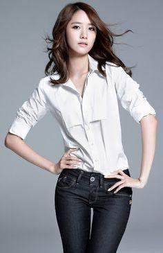 Yoona (SNSD), Girls' Generation 色白、美肌☆