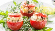 Marinierte Tomaten mit Couscous-Füllung (Quelle: ZDF)
