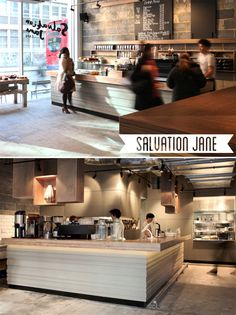 """Salvation Jane by Old Street tube """"Breakfast done well"""" East London style! *No grease necessary* London Life, East London, London Eater, Cinnamon Banana Bread, Melbourne Cafe, Grilled Halloumi, Filo Pastry, Squash Salad, City Road"""