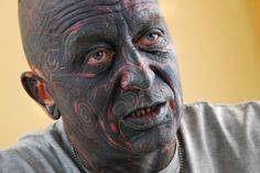 Vladimir Franz may become the first face tattooed president   inkntell