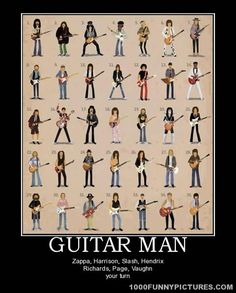 Guitar man – Demotivational Posters