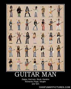 Guitar man – Demotivational Posters
