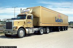 Dad drove a truck for Labatt's for years. If I was lucky I could go for a ride too. Big Rig Trucks, Old Trucks, Gary Morton, Truck Transport, Bus, Peterbilt, Classic Trucks, Tractors, Wheels