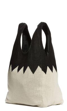 zig zag shopper bag – Hansel from Basel