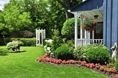 Front yard Tree islands - Google Search