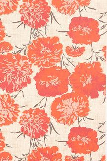 Peony Wallpaper - eclectic - wallpaper - by Urban Outfitters