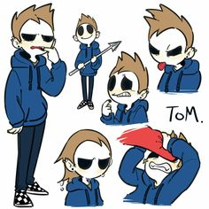 "Tom: ""D-DON'T PET ME T-TORD!!"""
