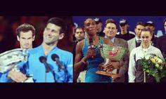 DO IT LIKE... Fire eyes Cyclops would be envious  ENG: http://ift.tt/1StUuAI  ESP: http://ift.tt/1SvSVVQ  Photo/Foto: Andy Murray Novak Djokovic. 2015 Australian Open. Photo: Scott Barbour/Getty Images. Martina Hingis Venus Williams. 1999. Photo: Unknown.  #andymurray #martinahingis #venuswilliams #novakdjokovic #williamssisters #nole #nolefam #swissmiss #hoppsuisse #santina #atp #wta #tennis #tenis  #supporttheswiss #australianopen