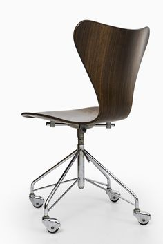 Arne Jacobsen rare Oxford chair for St Catherines College Fritz