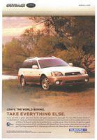 Subaru Outback L.L. Bean Edition 2002 Ad Picture