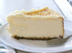 Low Carb French Vanilla Cheesecake