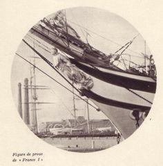 """La figure de proue du """"France"""" de Bordes"""