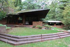 The baird house amherst massachusetts 1940 frank lloyd for Palmer house ann arbor