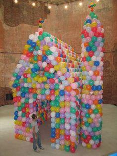 Balloon+Sculptures   Balloon sculptures by Hans Hemmert