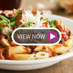 Sweet and Spicy Pasta with Eggplant Sauce