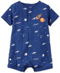 Carter's Space-Print Romper, Baby Boys (0-24 months)