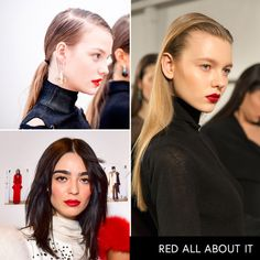 - Proof that a true classic never goes out of style, red lipstick is here to stay.Proenza Schouler, Thomas Wylde, Cushnie et Ochs