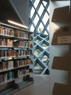 Seattle Public Library, designed by Rem Koolhaas and Joshua Prince-Ramus of OMA #books #libraries #architecture