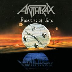 Anthrax - Persistence of Time on 2LP from Wax Cathedral