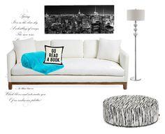 """Living room"" by jessicamaraea on Polyvore featuring interior, interiors, interior design, home, home decor, interior decorating, Abanja, LISKA, One Bella Casa and living room"