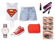 """Superman✨"" by ingridnr1 on Polyvore"