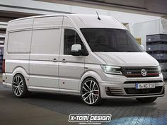 VW Crafter GTI: Illustration - autozeitung.de