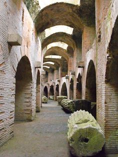 Flavian Amphitheater in Pozzuoli, Naples. Is one of the most important in Italy! For information about our archaeological tours www.discovernapolidestinations.com