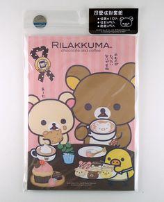 janetstore.com: kawaii stationery,letter sets, stickers, gifts and more - San-X Rilakkuma bear letter set 4718733168664