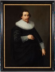 Nicolaes Eliasz Pickenoy, Portrait of Cornelis de Graeff (1599-1664), 1633 - Scheepvaartmuseum Amsterdam