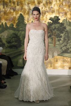 Wedding Dresses 2014 - Anne Barge Runway Show, Spring 2014