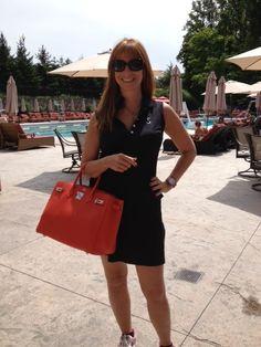 Me with my new Birkin Bag!