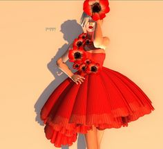 Poppy Costumes Wizard of Oz | Found on google.ca