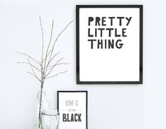 Created by our in-house designer, this lighthearted typographic print is perfect to bring a touch of love to any room.