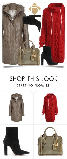 """""""Boberck"""" by dumspirospero-l ❤ liked on Polyvore featuring Gianvito Rossi, Alexander McQueen and boberck"""