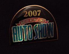 Seattle International Auto Show 2008 Pin Pinback Hatpin Lalel Pin