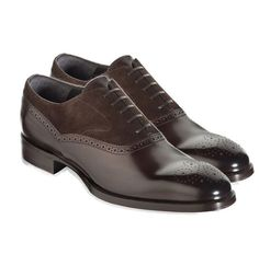 Handmade Mens Brown Formal Shoes, Men Brown Dress Formal Leather & Suede Shoes #Handmade #MonkShoes #Formal #formaldresses