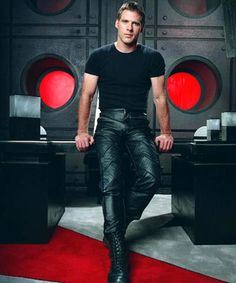 Ben Browder and those leather pants- one of the many reasons to watch Farscape