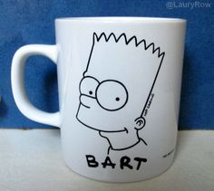 MUG BART SIMPSON. @LauryRow  https://www.facebook.com/pages/Disneycollecbell/603653689716325