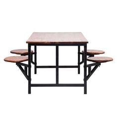 Table et tabourets Space