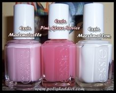 The Polish Addict » Blog Archive » Variations on a Theme: The Traditional Essie French Manicure