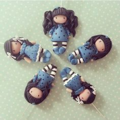Gorjuss dolls polymer clay